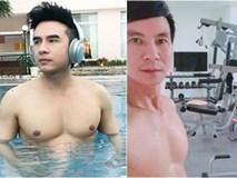 Đan Trường 41 tuổi body trai tráng chết mê, thế mà vẫn chưa là gì khi xem ảnh phòng gym mới nhất của U50 Lý Hải