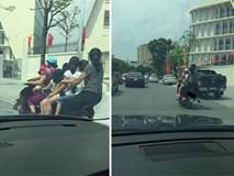 Hình ảnh người phụ nữ trên phố Hà Nội khiến cánh đàn ông tái mặt