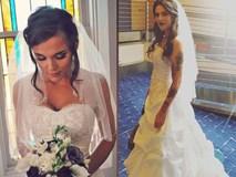 Điều gì hấp dẫn ở chiếc váy cưới cũ này mà 12 người phụ nữ xếp hàng chờ tới lượt mặc?