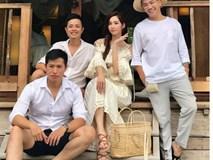 Hậu trường chụp ảnh cưới của Hoa hậu Đặng Thu Thảo và bạn trai đại gia