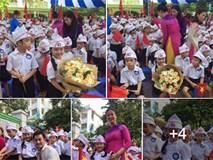 Facebook ngập tràn hình ảnh bố mẹ khoe con ngày khai giảng năm học mới