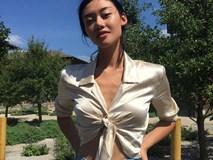Tưởng chỉ có gái Tây mới dám mặc nhưng thiếu nữ Việt đã mạnh dạn sắm áo sơ mi lửng