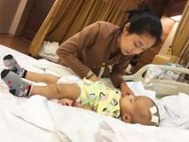 Lời kêu cứu của người vợ bị chồng bỏ rơi, con bệnh não úng thuỷ mấy lần chết hụt khi qua Singapore điều trị