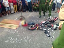 Đà Nẵng: Xe tải va chạm với xe đạp điện, nữ sinh lớp 8 chết thảm