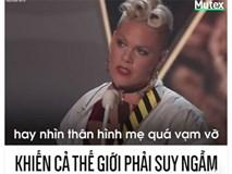 Bài phát biểu của nữ ca sĩ Pink khiến cả thế giới phải suy ngẫm