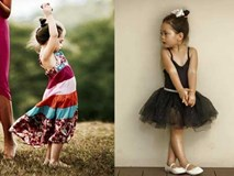 Mấy ai biết con gái lai Tây của Đoan Trang ngày càng mặc đẹp xinh xắn