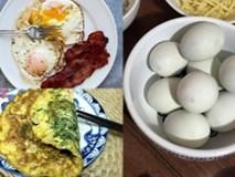 Độc chiêu giảm cân với trứng chỉ trong 2 ngày cuối tuần