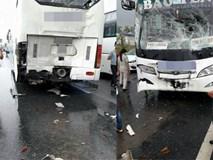 Thái Nguyên: Xe chở công nhân gây tai nạn liên hoàn trên cao tốc