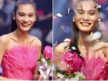 Kim Dung đăng quang Vietnam's Next Top Model 2017 trong niềm sung sướng của... Thùy Dương