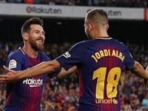 """Messi lập hat-trick, Barcelona thắng """"5 sao"""" để hơn Real 4 điểm"""