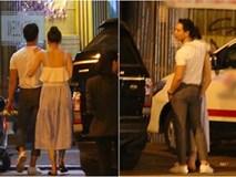 """Hà Hồ - Kim Lý lại """"dính như sam"""", thân mật ngoài phố và cùng nhau về nhà lúc nửa đêm"""