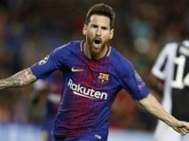 Cuối cùng Messi đã phá lưới Buffon, Barcelona đại thắng Juventus