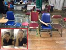 Cận cảnh lớp học vợ Xuân Bắc tố sinh viên phải ngồi 'ghế phế thải'