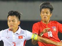Thua ngược Myanmar, U18 Việt Nam chia tay U18 Đông Nam Á trong cay đắng
