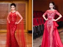 """Hoa hậu Mỹ Linh, á hậu Huyền My đẹp """"cạn lời"""" trong những chiếc đầm bá chủ thảm đỏ"""