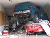 Vợ thú tội đáng yêu sau khi đâm hỏng ô tô của chồng