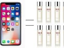 Iphone X đắt đỏ thật đấy, nhưng thật ra cũng chẳng đáng gì với số tiền các chị em đã bỏ ra cho mỹ phẩm