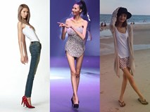 Nhiều mỹ nhân Việt sở hữu đôi chân tong teo gây ám ảnh không thua kém Cao Ngân