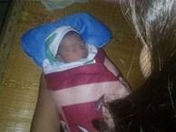 Trong bão số 10, phát hiện bé sơ sinh bị bỏ rơi trên đường