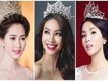 Những chiếc vương miện 'đắt xắt ra miếng' của dàn hoa hậu Việt Nam