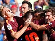 Paulinho giúp Barcelona ngược dòng thắng nhọc Getafe
