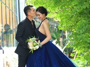 Ảnh cưới lãng mạn của Vân Quang Long và vợ kém 10 tuổi