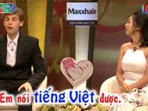 'Phát sốt' với cặp vợ Việt - chồng Tây 'siêu' hạnh phúc trong Vợ chồng son