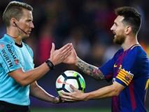 Messi lập poker, Bacelona chôn vùi Eibar ở Nou Camp