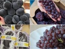 """Bộ đôi nho khổng lồ - nho bé hạt tiêu Nhật Bản """"đắt xắt ra miếng"""" đang gây sốt dân sành ăn"""