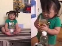 Cho con gái 2 tuổi uống bia bị dân mạng ném đá tả tơi