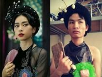 """Cười nghiêng ngả chàng trai cosplay """"phiên bản lỗi"""" sao Việt, sao Hàn"""