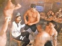 Lộ ảnh phản cảm trong tiệc sinh nhật, Lâm Tâm Như không giữ được hình tượng ngọc nữ