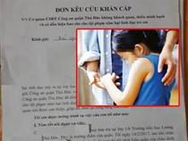 Mẹ kêu cứu khắp nơi vì nghi con gái 7 tuổi bị xâm hại, công an nói do bị vấp ngã