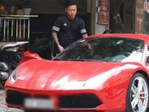 Video hot: Tuấn Hưng phóng siêu xe Ferrari 15 tỷ gây chú ý trên phố