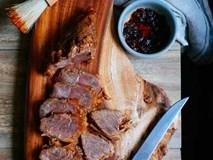 Món ngon cuối tuần: Bắp bò hầm xì dầu