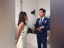 Thu Trang và Kiều Minh Tuấn vì tiền mà không nhìn mặt nhau
