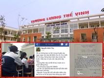 Tâm thư đang gây bão mạng của vị phụ huynh có con theo học tại trường Lương Thế Vinh