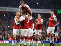 """Tân binh """"bom tấn"""" lập cú đúp, Arsenal nhẹ nhàng khuất phục West Brom"""