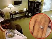 """Ngang nhiên tháo nhẫn kim cương từ tay người quá cố, tên trộm chẳng ngờ mình bị """"chơi xỏ"""" đau đớn như vậy"""