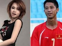 Tâm Tít và những người đẹp showbiz yêu sao bóng đá