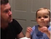"""Màn """"song tấu"""" beatbox cực đáng yêu của bố và con trai!"""
