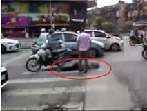 Đôi nam nữ điều khiển xe máy tông cụ ông tử vong rồi bỏ chạy