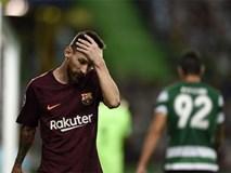 """Messi tịt ngòi, Barcelona lại """"ăn may"""" nhờ đối thủ tự đốt lưới nhà"""