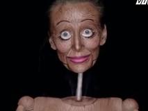 Bạn sẽ bị đánh lừa thị giác khi nhìn người phụ nữ này