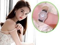 Ngọc Trinh khoe đồng hồ nạm kim cương tiền tỷ mừng sinh nhật