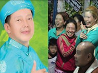 Đám đông hiếu kì, liên tục cười giỡn xin chụp ảnh nghệ sĩ trong đám tang của danh hài Khánh Nam