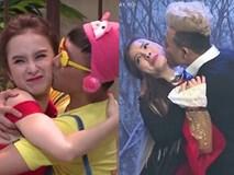 Những lần Trấn Thành cưỡng hôn, ôm ấp sao nữ trên sóng truyền hình