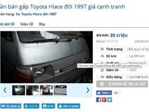 Nhan nhản xe ô tô cũ giá 50 triệu đồng: Nên mua hay không?
