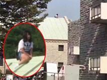 Lặn lội sang Hàn Quốc tìm gặp người yêu cũ bất thành, cô gái Trung Quốc leo lên nóc nhà để ăn vạ