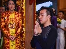 Trấn Thành và dàn sao Việt tấp nập cúng Tổ tại đền thờ của Hoài Linh